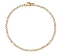 14-Karat Gold Diamond Tennis Bracelet