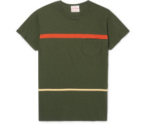 1950s Slim-fit Striped Cotton-jersey T-shirt