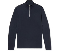 Fjord Wool Half-zip Sweater