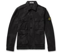 Printed Cotton-blend Ripstop Shirt Jacket