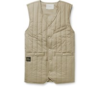 Quilted Nylon-Ripstop Gilet