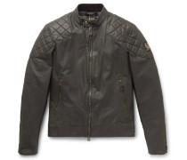 Outlaw Waxed Cotton-blend Blouson Jacket