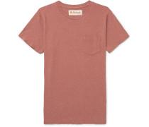 Cosmos Mélange Organic Cotton-blend Jersey T-shirt