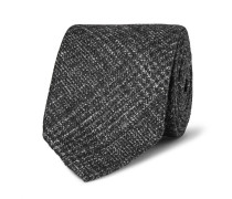 8cm Checked Wool, Silk And Cashmere-blend Tie