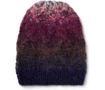 Dégradé Wool-blend Beanie