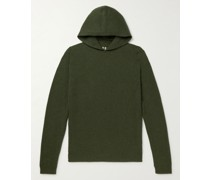 Recycled Cashmere and Wool-Blend Hoodie