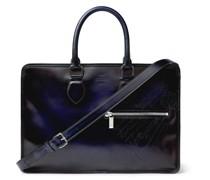 Scritto Venezia Leather Briefcase