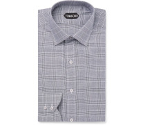 Prince Of Wales Checked Cotton Shirt