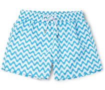 Copacabana Mid-length Printed Swim Shorts