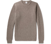 Ribbed Wool, Yak And Cashmere-blend Sweater