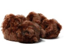 Hug Me Bear Shearling Slippers