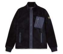 Herne Shell-Trimmed Fleece Jacket