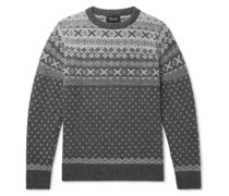 Mr Lawrence Fair Isle Wool Sweater
