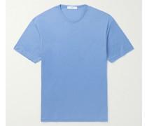 Cotton and Silk-Blend Jersey T-Shirt