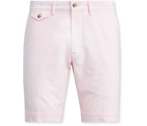 Bedford Pinstriped Stretch-Cotton Twill Shorts
