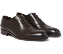 Manhattan Cap-toe Leather Oxford Shoes