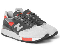 998 Suede And Mesh Sneakers