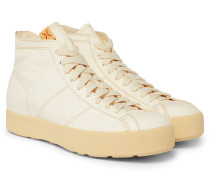 Foley Folk Leather High-top Sneakers