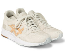 Gel-lyte V Leather-trimmed Suede And Mesh Sneakers
