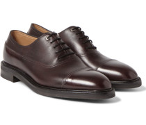 Weir Panelled Leather Oxford Shoes