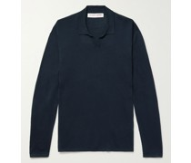 Holman Slim-Fit Sea Island Cotton Polo Shirt