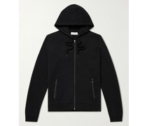 Devon Slim-Fit Cotton-Jersey Zip-Up Hoodie