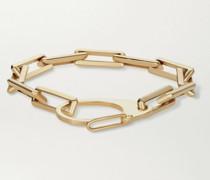 18-Karat Gold Chain Bracelet