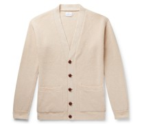 Harry Ribbed Cashmere Cardigan