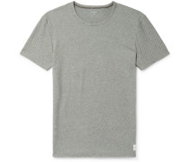 Honeycomb Cotton-Blend Jersey T-Shirt