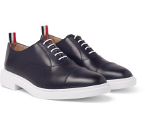 Cap-toe Leather Oxford Shoes