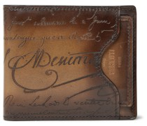Scritto Leather Billfold Wallet with Cardholder
