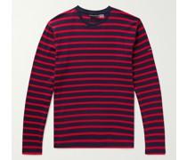 Slim-Fit Striped Cotton-Jersey T-Shirt