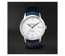 Classima Automatic 42mm Stainless Steel and Alligator Watch, Ref. No. 10333