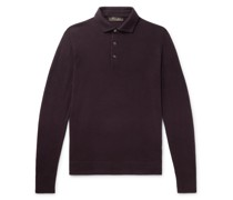 Slim-Fit Baby Cashmere Polo Shirt