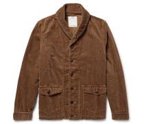 Kobuk Shawl-collar Cotton-blend Corduroy Jacket