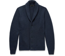 Shawl-collar Cashmere Cardigan