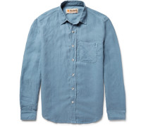Slim-fit Slub Chambray Shirt