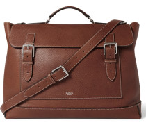 Full-grain Leather Messenger Bag