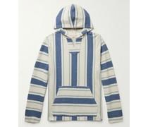 Biarritz Striped Cotton Hoodie