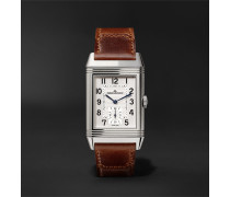 Reverso Classic Medium Hand-Wound 25.5mm Stainless Steel and Leather Watch, Ref. No. Q2438522