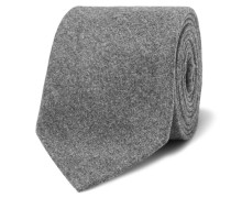8cm Mélange Wool, Silk And Cashmere-blend Tie