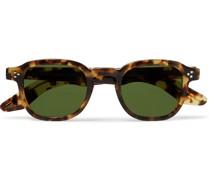 Momza Sun Square-Frame Tortoiseshell Acetate Sunglasses