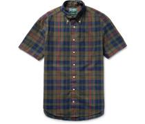 Madras-checked Cotton Shirt