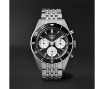 Autavia Automatic Chronograph 42mm Polished-steel Watch