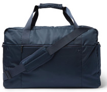 Mesh-panelled Shell Holdall