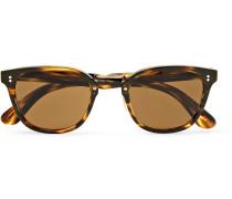 Lerner D-frame Tortoiseshell Acetate And Gold-tone Sunglasses