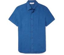 Meden Slim-fit Linen Shirt