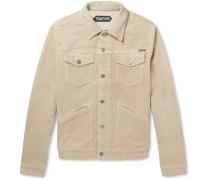 Stretch-cotton Corduroy Trucker Jacket