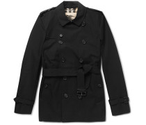 London Kensington Short-length Cotton Trench Coat