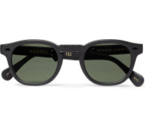 + Moscot Folding Lemtosh Round-frame Acetate Sunglasses
